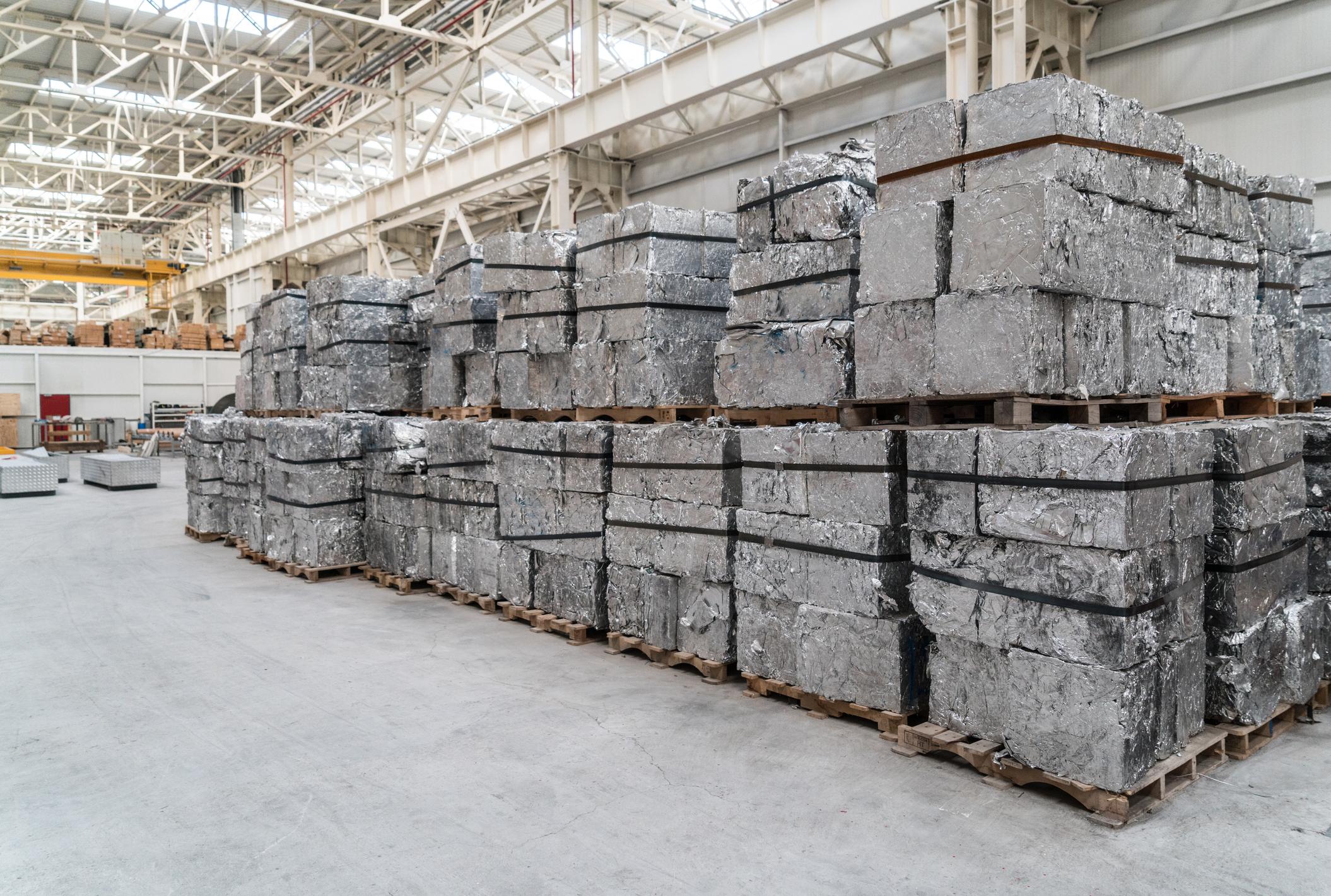 Reciclagem do alumínio.